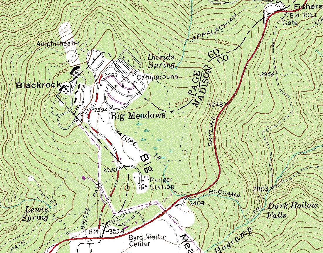 Wandering Virginia Virginia Topographic Maps