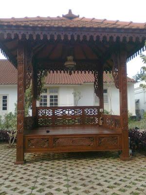 Tukang Taman Jakarta, gambar Gazebo buat taman