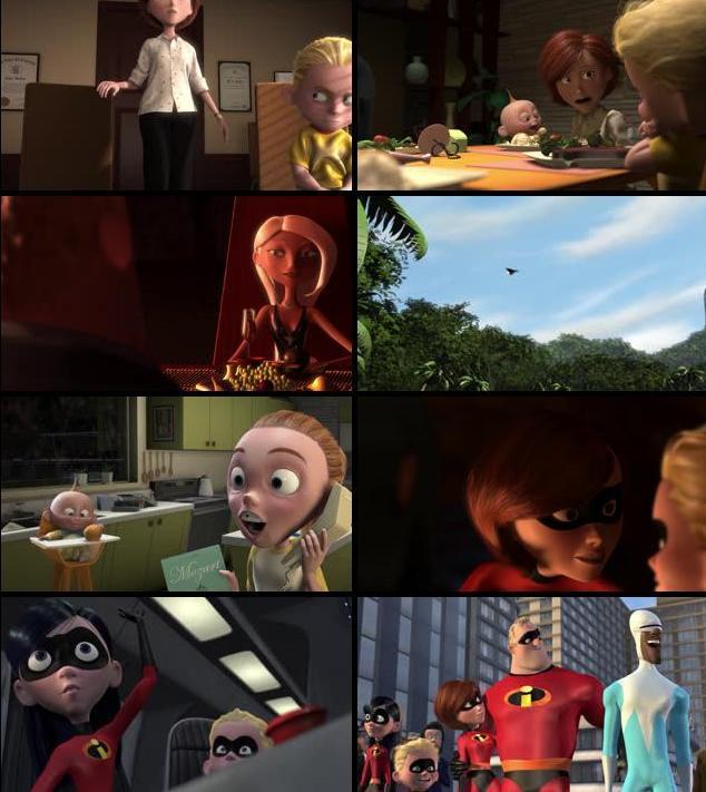 The Incredibles 2004 Dual Audio Hindi 480p BluRay