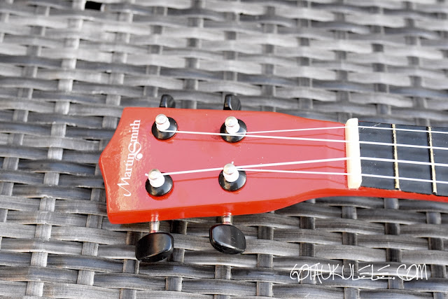 Martin Smith UK-212 Ukulele headstock