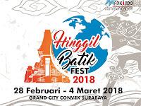 Pameran Batik Nusantara Digelar di Grand City Convex Surabaya
