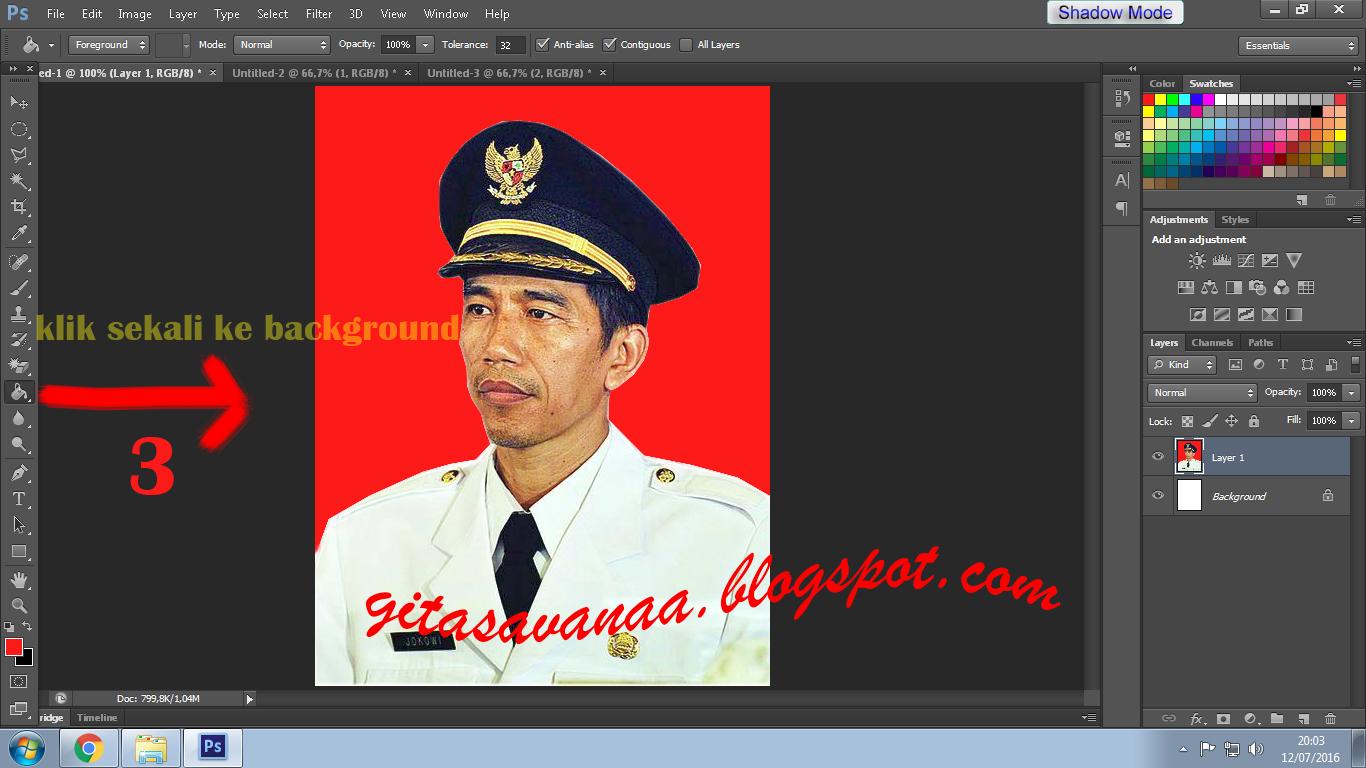 ... : Cara Membuat Ukuran Pas Photo untuk di Print dengan Photoshop