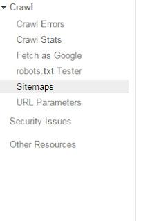 Submit Blog Sitemap
