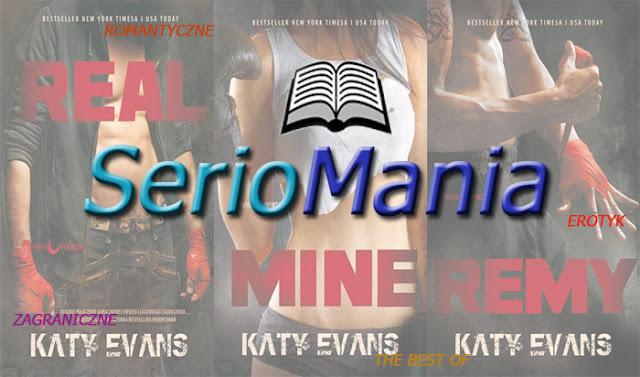 [#129-130] Seriomania!! Ognista seria Real od Katy Evans!!