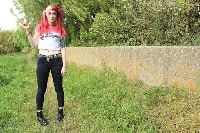 Vanilla Underground Harley Quinn T-shirt