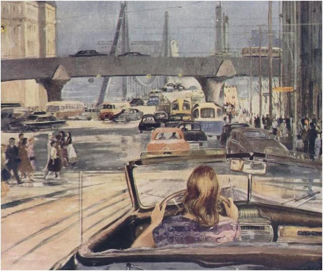 Юрий Пименов. Новая Москва 1960 года.