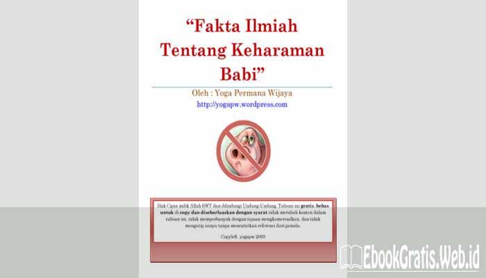 Ebook Fakta Ilmiah Tentang Keharaman Babi