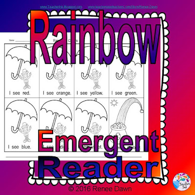 Rainbow Lesson for Kindergarten - Renee Dawn