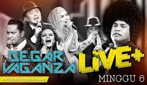 LIVE Konsert Gegar Vaganza Minggu 6 LIVE Fully HD! Tiada Sangkut! Jom Saksikan Bersama-sama