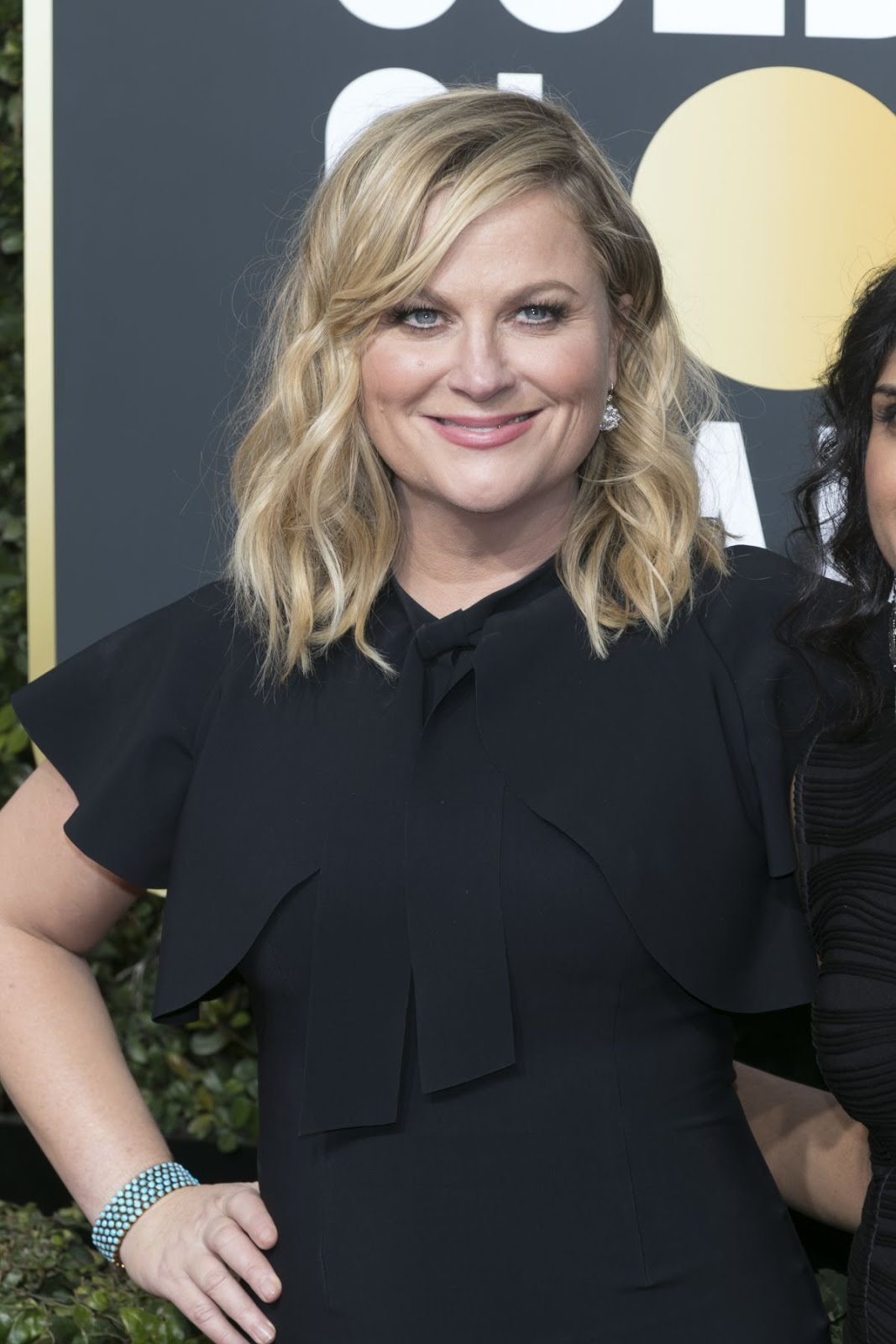 Amy Poehler At 75Th Annual Golden Globe Awards In Beverly Hills