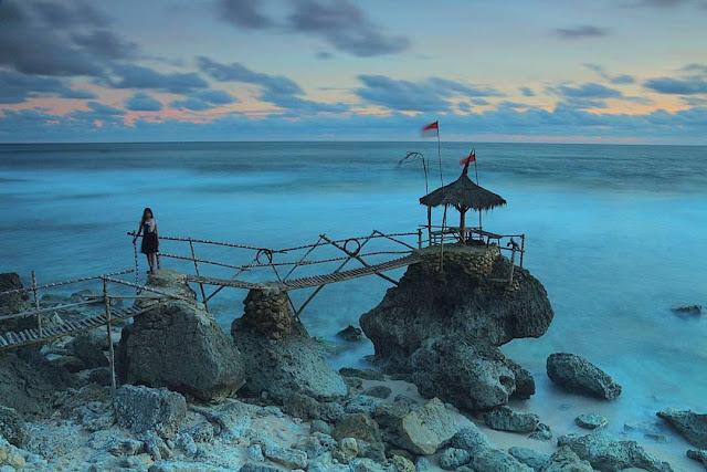 Lokasi dan Rute Menuju Pantai Watu Lawang Gunungkidul Yogyakarta