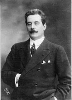 This photograph of Puccini was taken in America in 1908