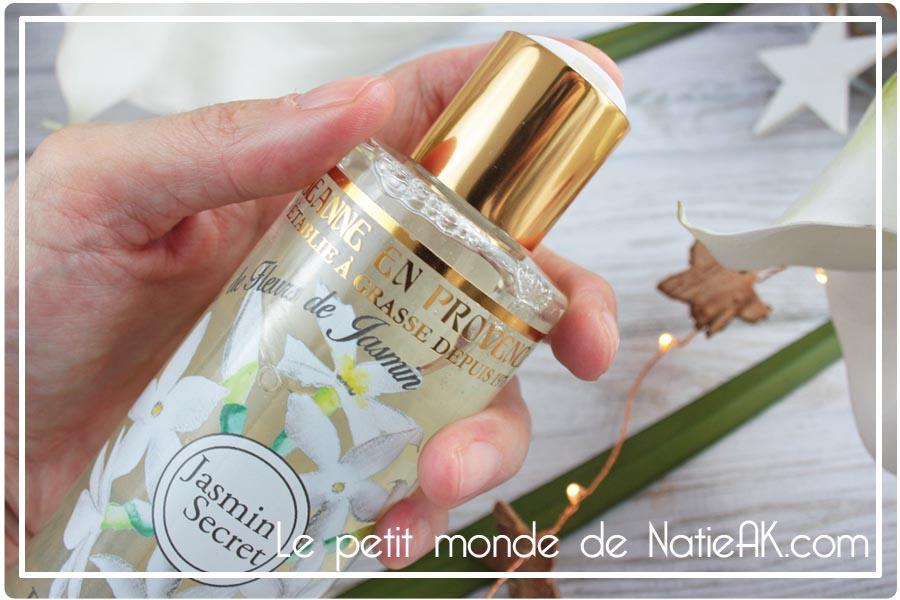 douche huile nourrissante Jeanne en Provence