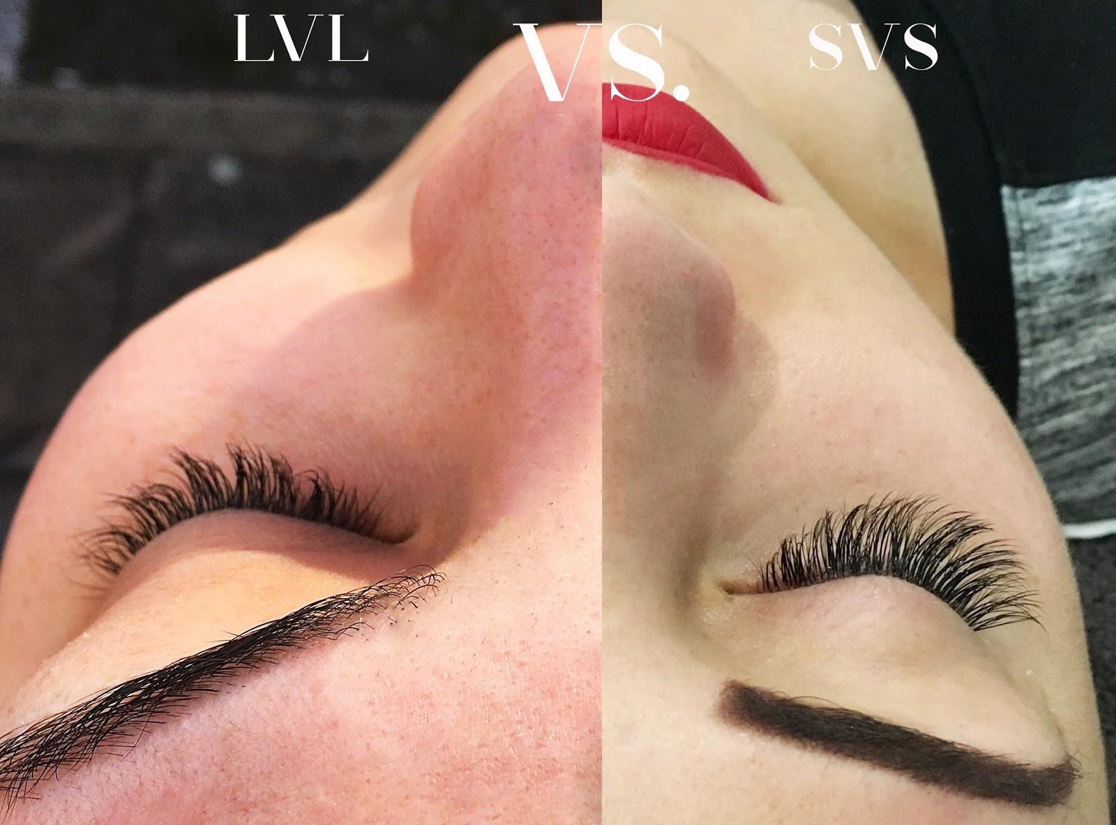 Svs Vs Lvl Nouveau Lashes Whats The Difference Surs De Luxe
