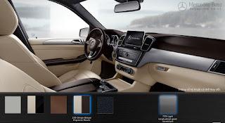 Nội thất Mercedes GLE 400 4MATIC Coupe 2015 màu Vàng Ginger/Nâu Espresso 215