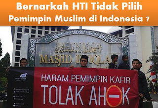 Pilkada DKI, HTI tidak Pilih Ahok dan Tidak Pilih Pemimpin Muslim
