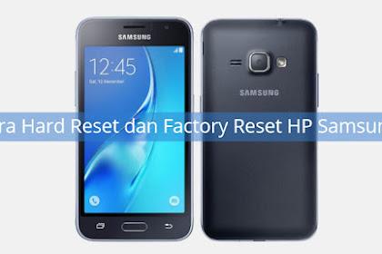 Cara Hard Reset dan Factory Reset HP Samsung J1