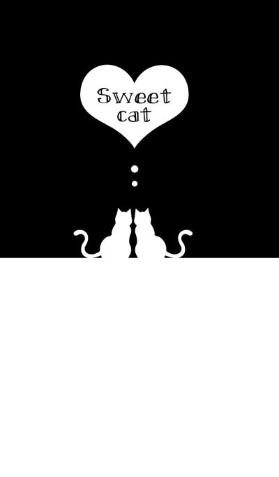 sweet cat [black&white]