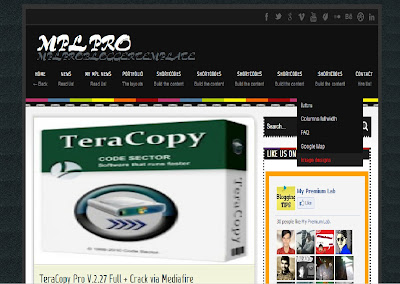 MPL PRO Blogger Template