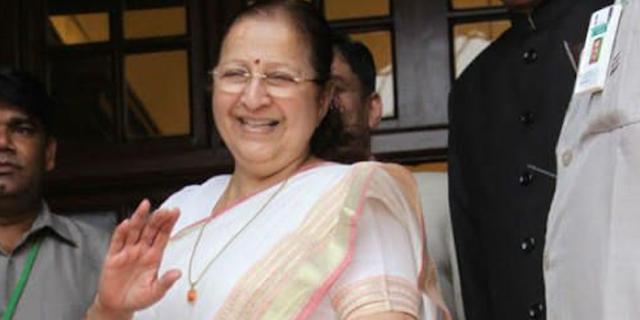 सुमित्रा महाजन ने दिग्विजय सिंह को चुनौती दी | INDORE MP NEWS