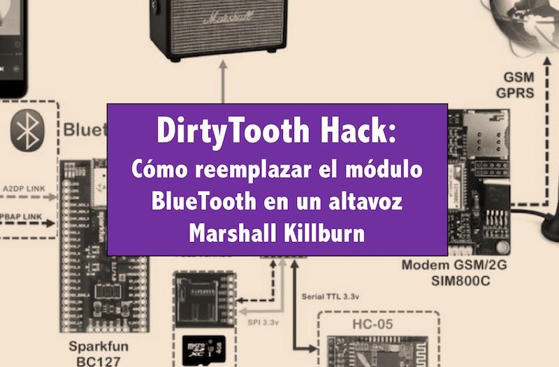 Un informático en el lado del mal: DirtyTooth Hack: Cómo reemplazar