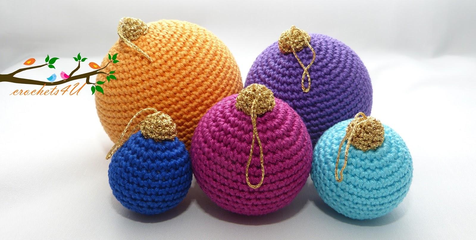 Crochets4u Kerstballen Haken