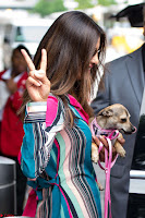Priyanka Chopra in Colorful Jumpsuit arriving at JFK Airport New York 18 June 2017 ~  Exclusive 003.jpg