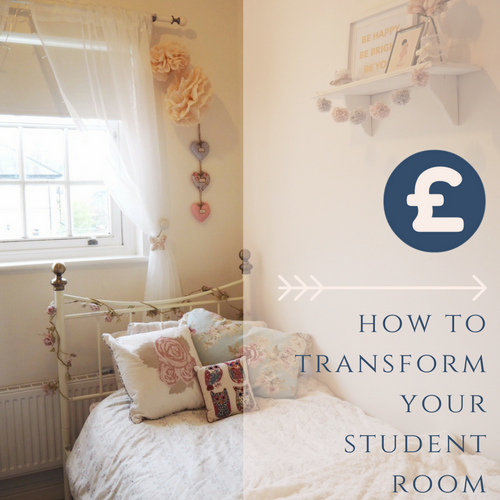 How to turn your university student dorm into a beautiful home from home, featuring storage tips, decoration ideas and tips on how to personalise a room