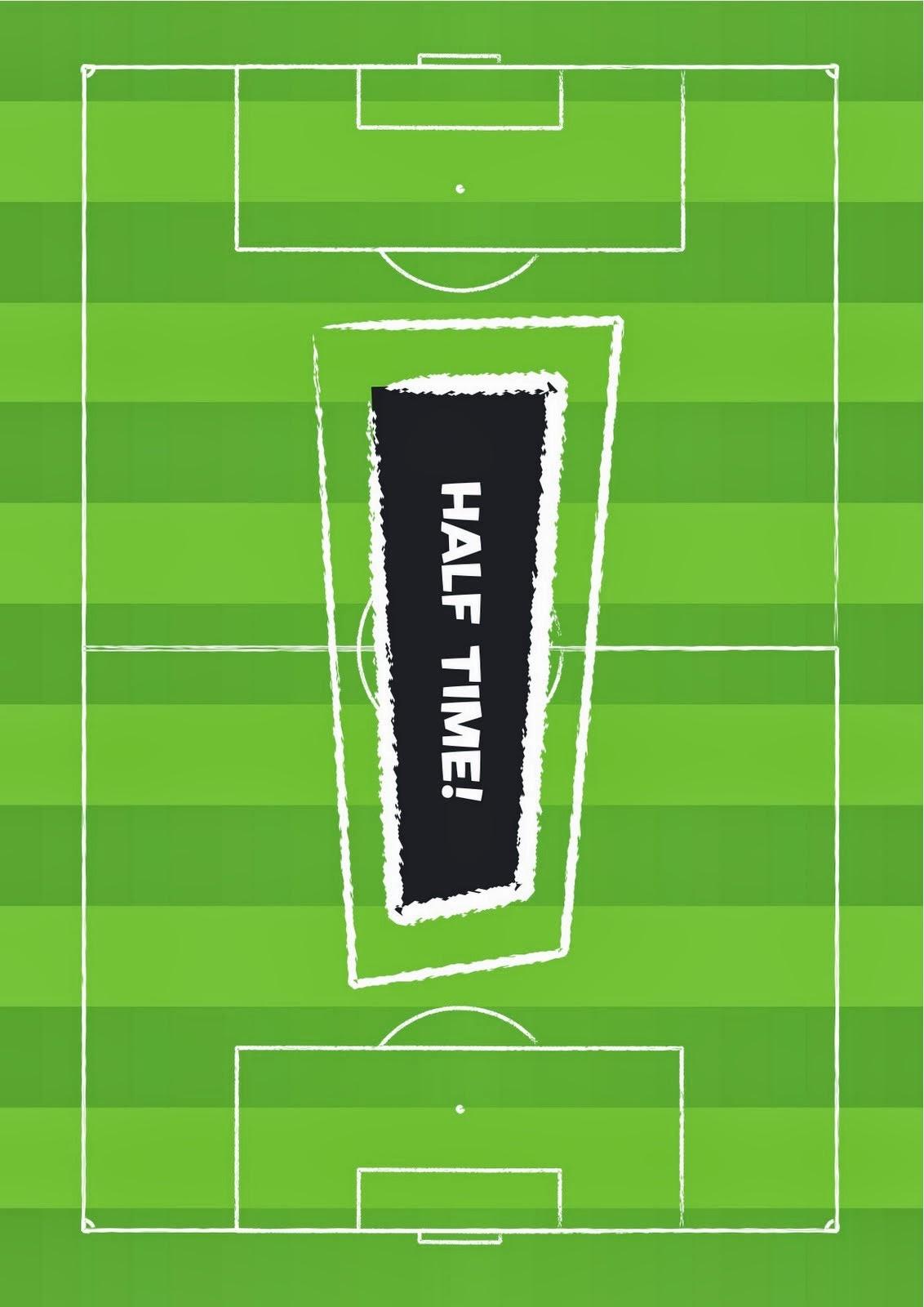 Kit para Fiestas de Futbol, para Imprimir gratis. | Ideas y ...