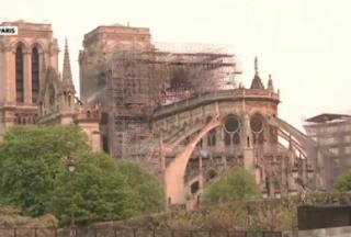 Solidarité internationale autour de Notre-Dame de Paris Donald Trump