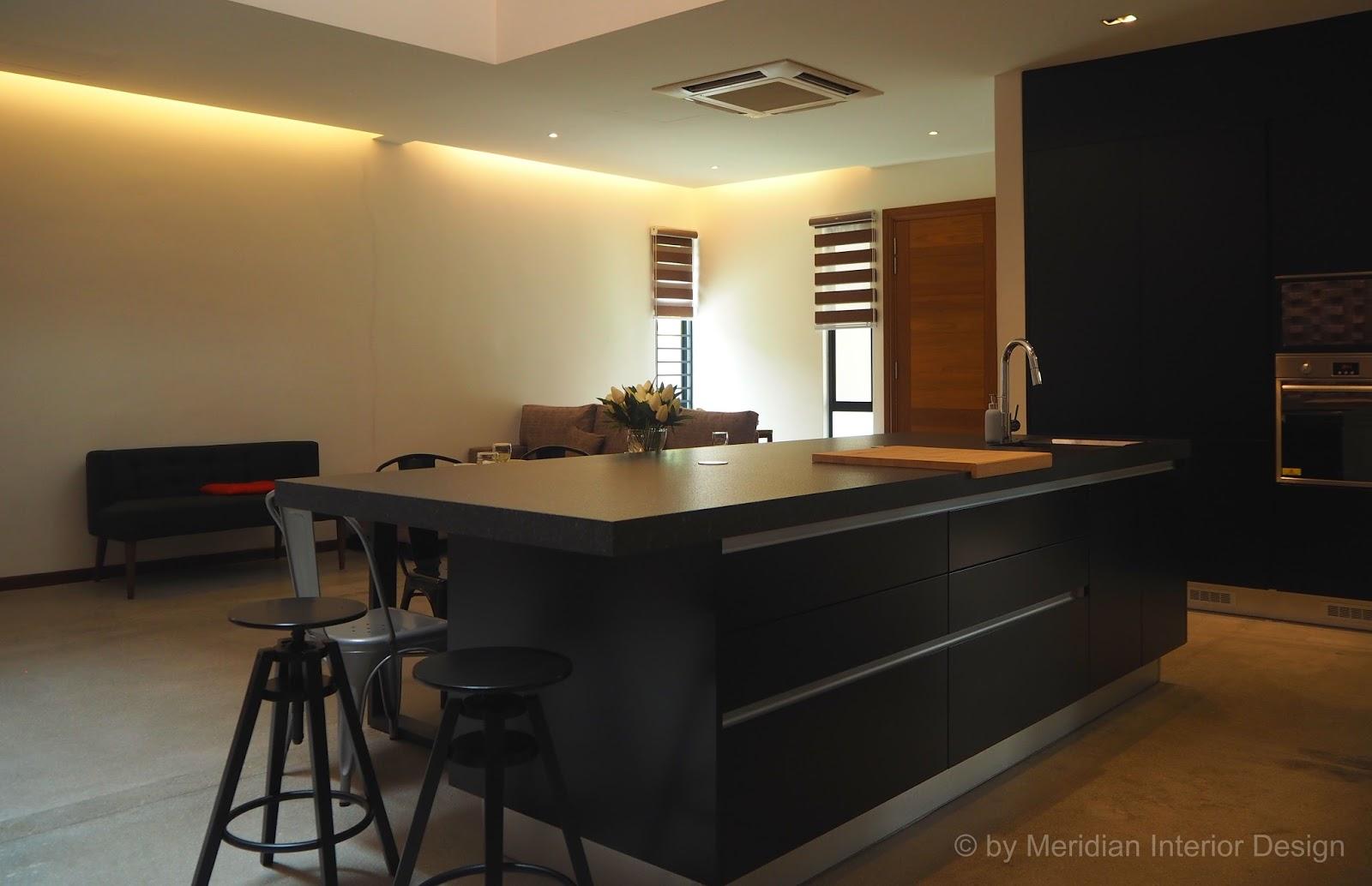 Meridian Interior Design And Kitchen Design In Kuala Lumpur Selangor Malaysia Industrial