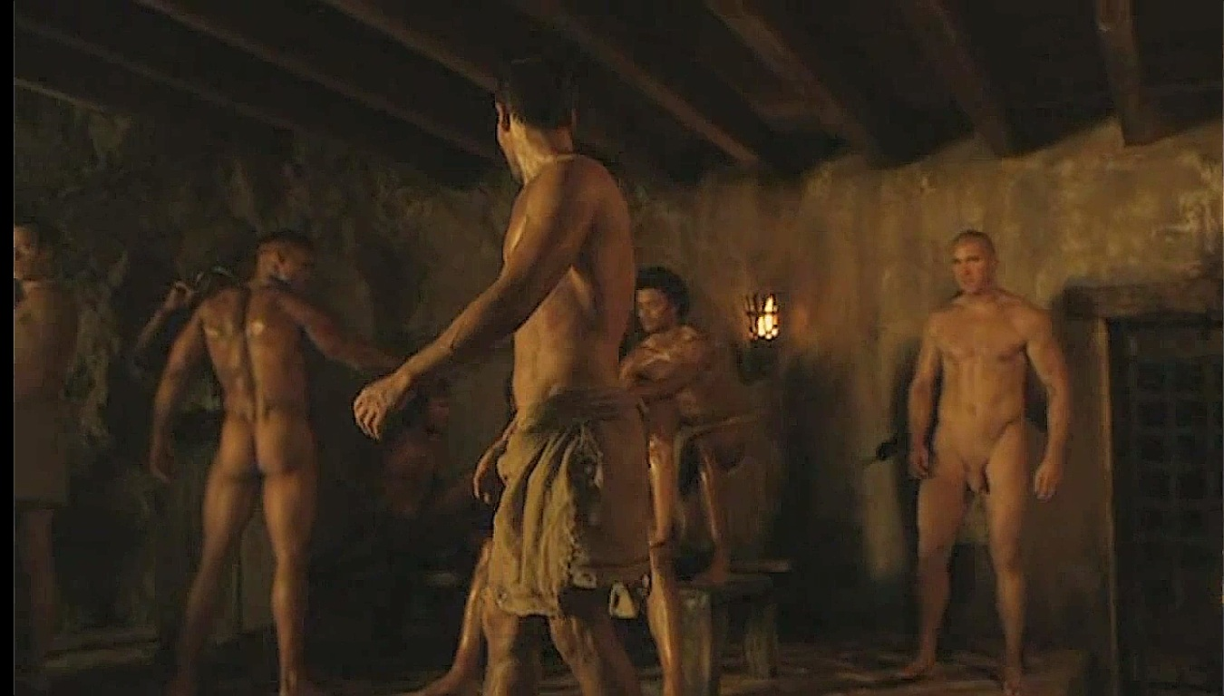 nude male actors in spartacus