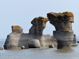 Monolithe des îles de Mingan