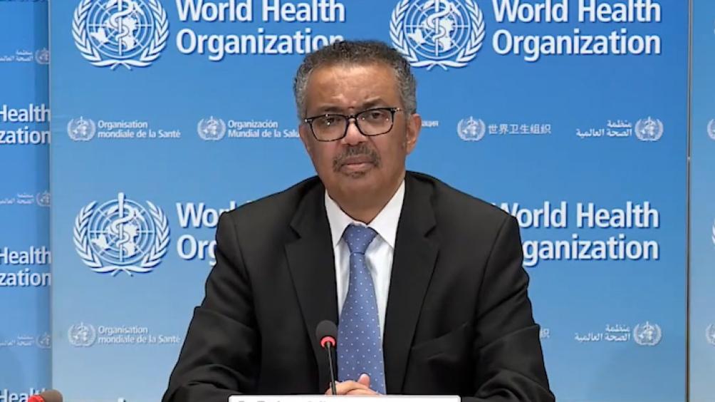 secretario general de la Organización Mundial de la Salud (OMS), Tedros Adhanom Ghebeyesus