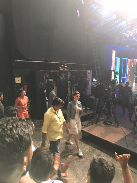 Kajal agarwal Latest Stills : Vivegam promotions