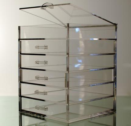 All Makeup for less: Makeup Organizer Clear Cube