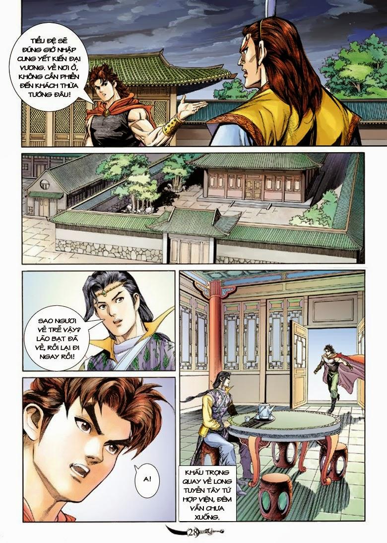 Đại Đường Song Long Truyện chap 150 - Trang 28