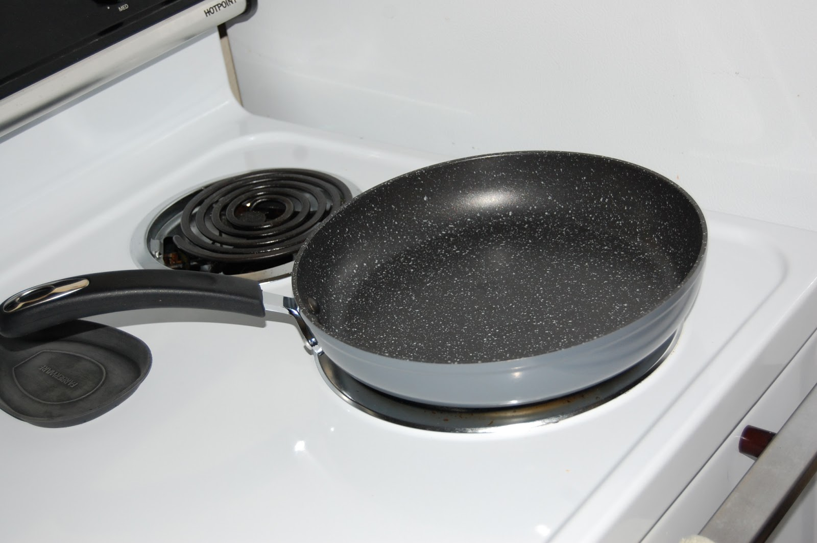 Temporary Waffle Cooking With 10 Quot Stone Earth Pan By Ozeri