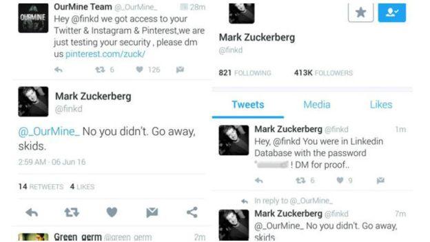 هاكرز سعوديون يقومون بإختراق الحسابات الالكترونية لمارك زوكربيرغ