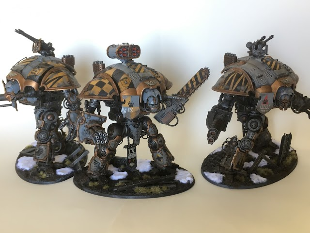 What's On Your Table: Oath Sworn Imperial Knights: Space Wolves
