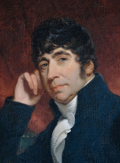Willem Bilderdijk, geschilderd in 1810 door Charles Howard Hodges - uitsnede