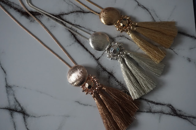 New Look Sale Necklaces. Rose, Silver and Gold