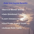 Reiki 2nd Degree Benefits & Course Contents