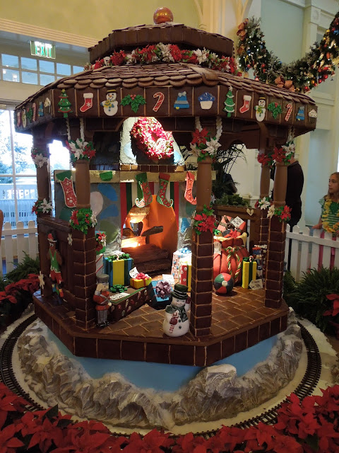 chocolate gazebo at Boardwalk Inn