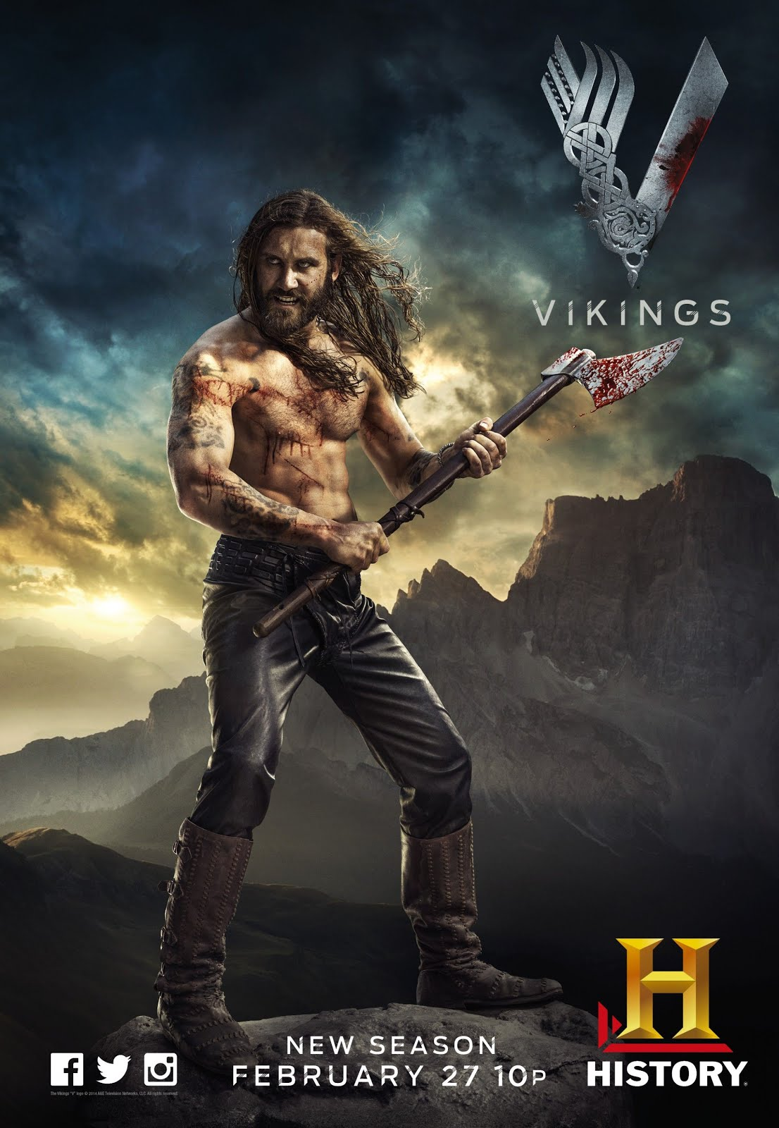 Vikings Season 2 Episode 07 Dual Audio 720p BluRay x264 [Hindi – English] ESubs