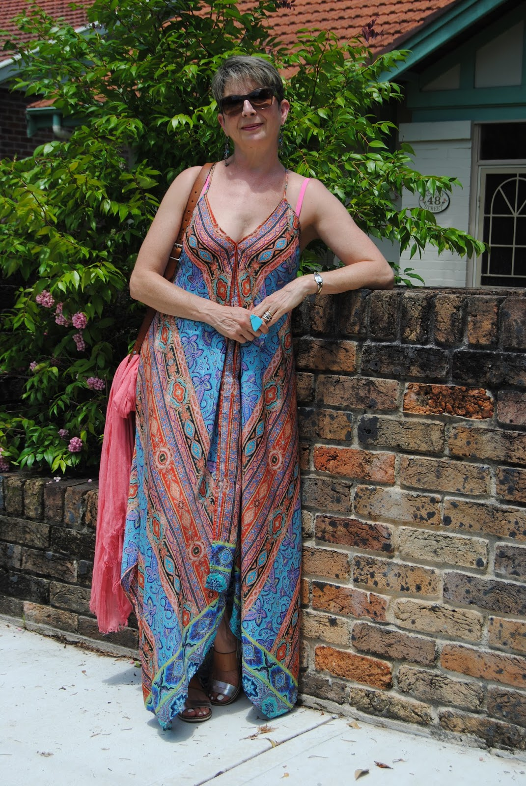 Looking Fabulous @ Fifty: HOW TO WEAR A CAFTAN DRESS FROM A POOL ...