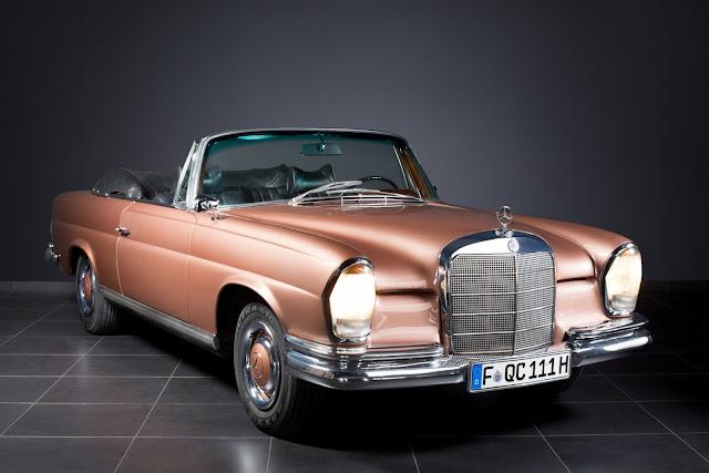1966 Mercedes-Benz 250SE Cabriolet for sale at Kautschuk-Klassik for EUR 150,000 - #mercedes #cabriolet #classic_car #for_sale