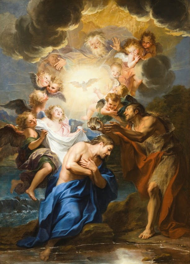 Antoine Coypel - The Baptism of Christ
