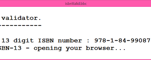 Google for ISBN-13 numbers