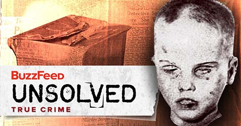 Unsolved Mystery of America Unknown Child Boy in the Box